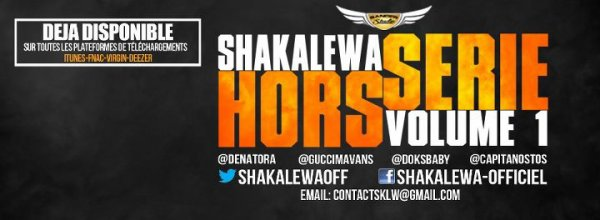 Shakalewa Hors Srie Volume 1 Dance And Love / Olovina / Sexy Lady /Sambe Tsuka